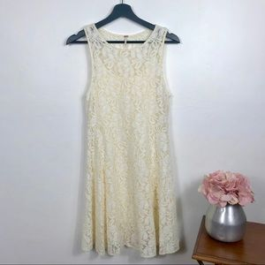 Free People Small Lace Summer Dress